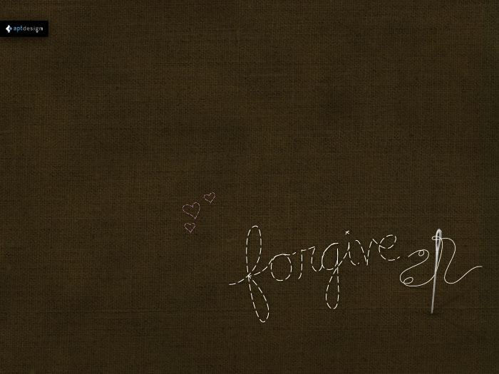 Forgive Wallpaper