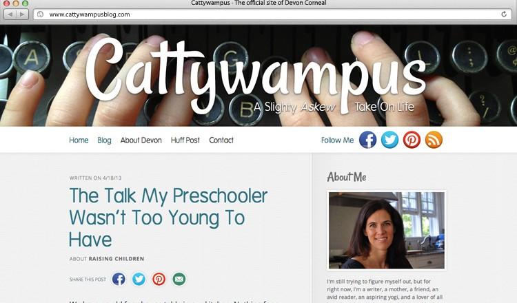 cattywampus-blog-design