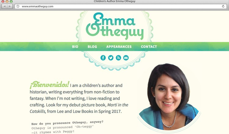 Children's Author Website