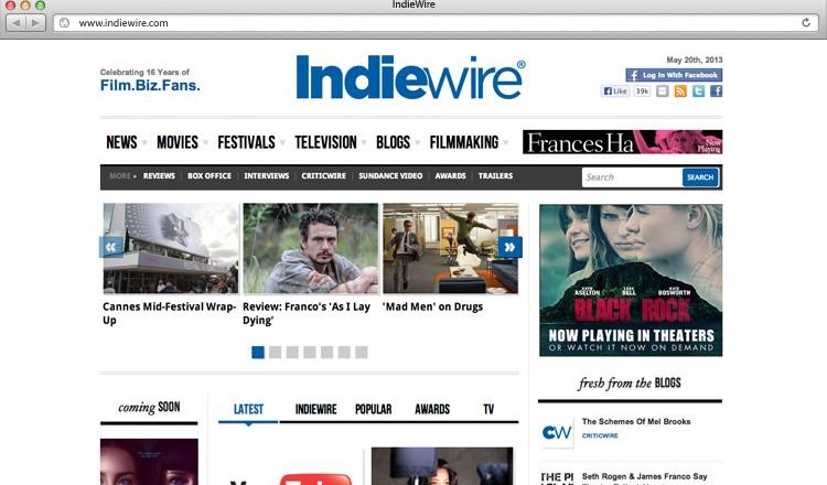 indiewire-web-design