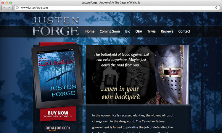 justen-forge-author-website