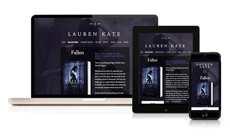 lauren-kate-responsive-author-website