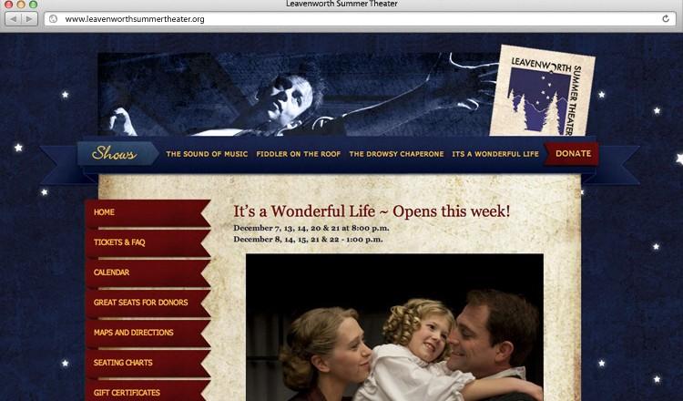 leavenworth-summer-theater-website-design