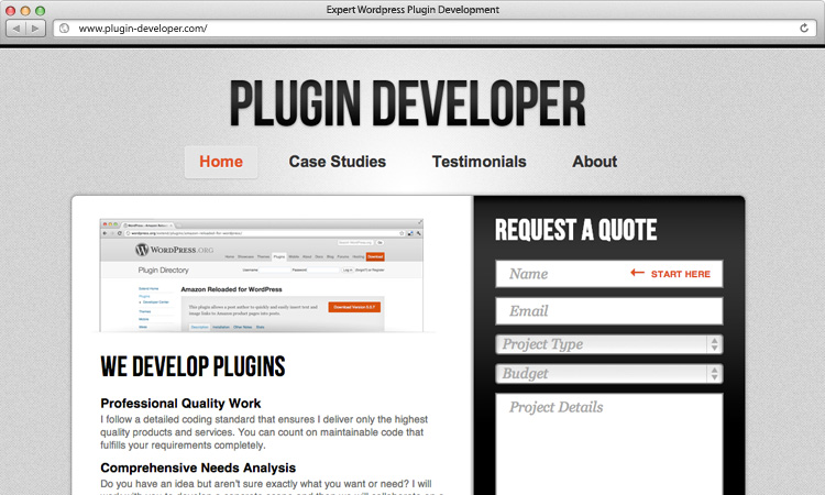 plugin-developer-home