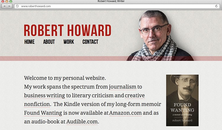 robert-howard-author-website
