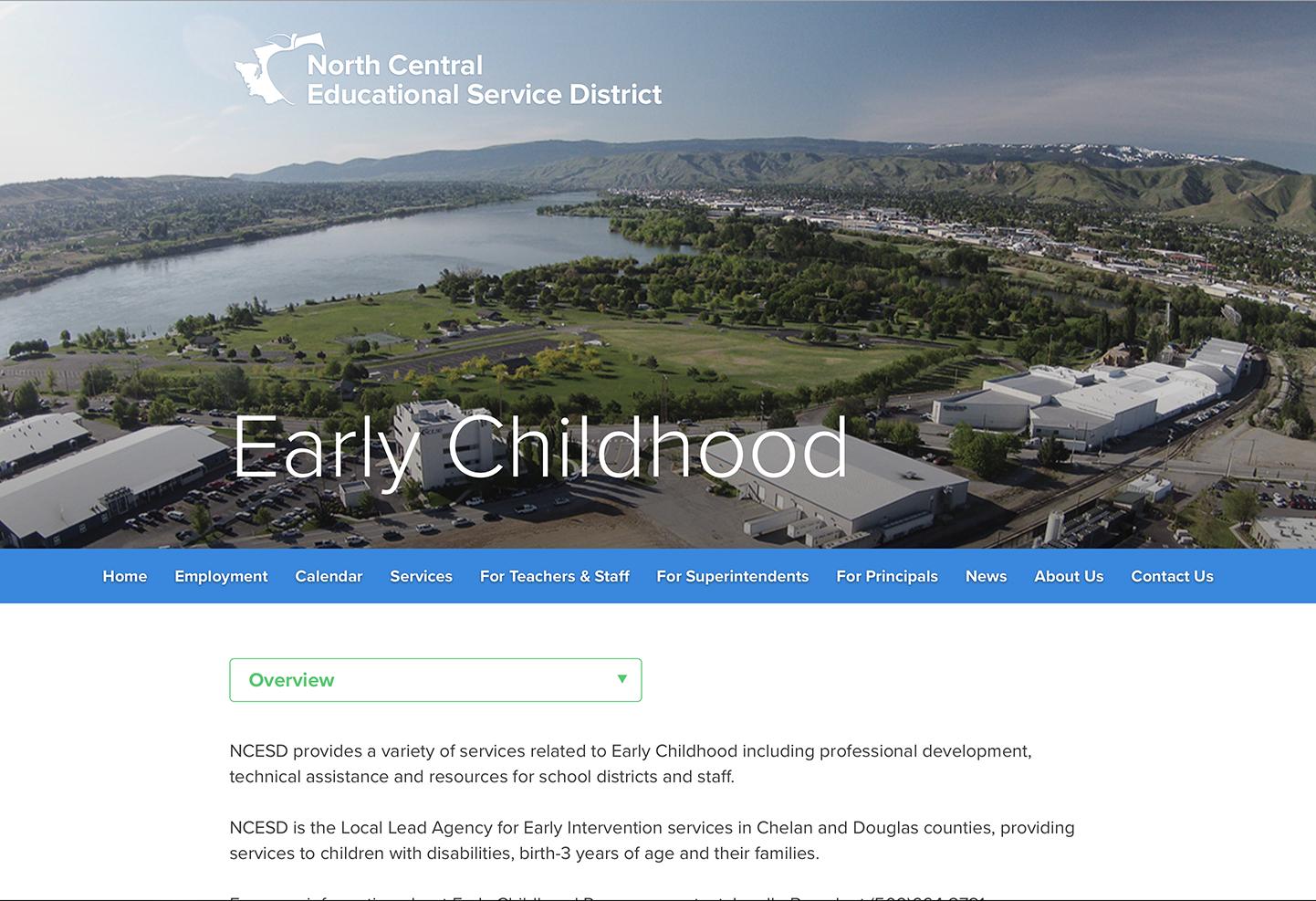 services page web design