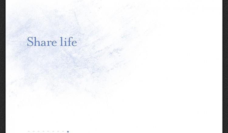 Share Life desktop wallpaper