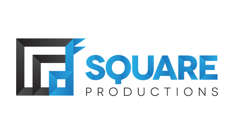 square productions logo design