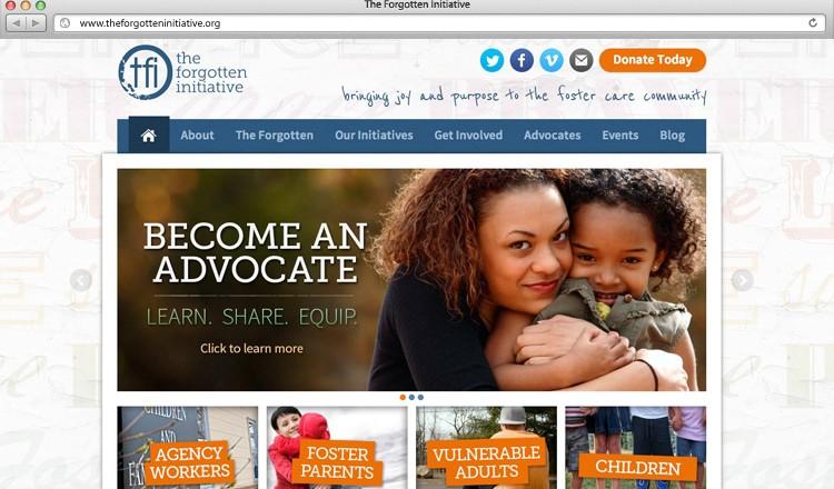 the-forgotten-initiative-agency-website-design