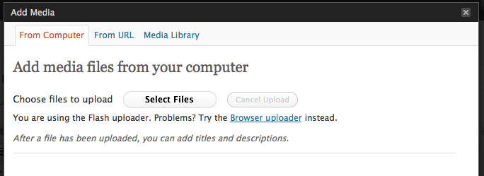 wordpress-add-media-files