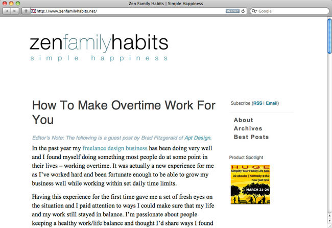 zenfamilyhabits guest post
